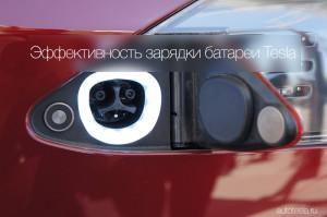 Разъем зарядки Tesla Model S