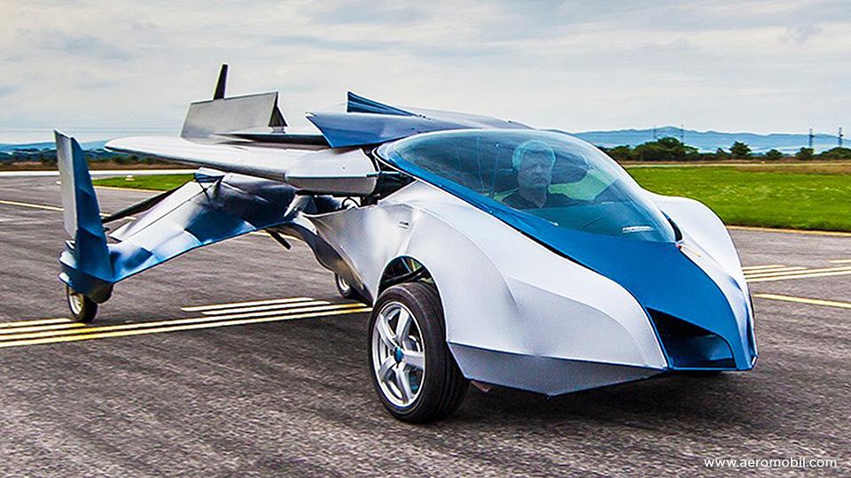 Фото AeroMobil, прототип