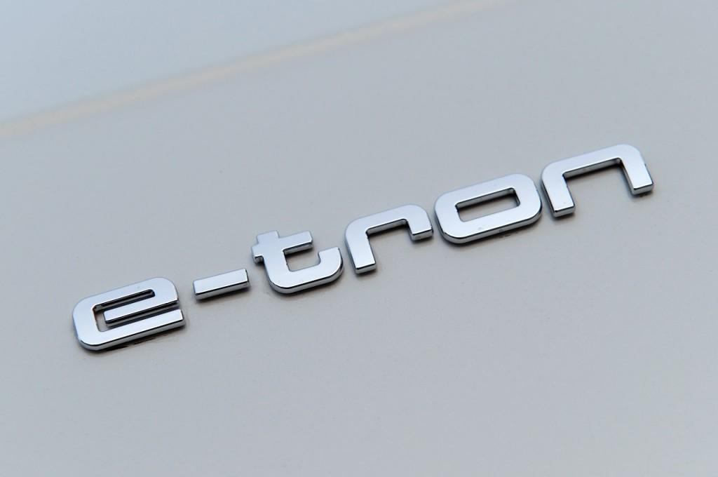 Логотип Audi e-tron