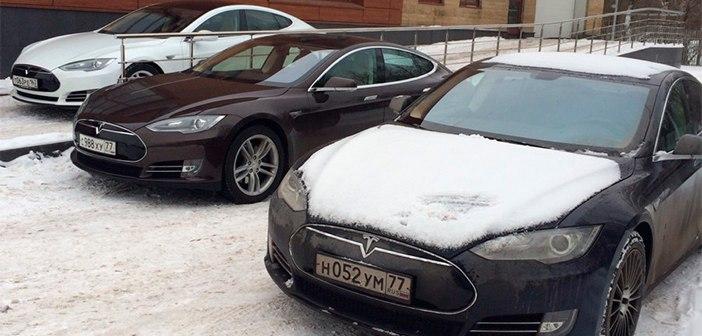 тесла автомобиль в россии