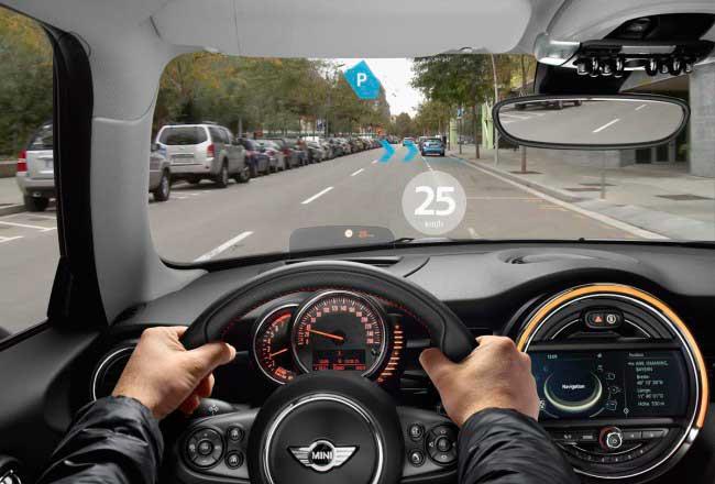 Вид из очков для водителей от BMW