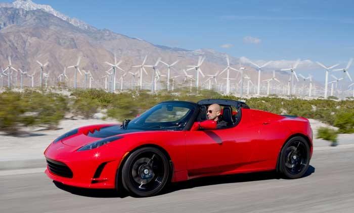 Электромобиль Tesla Roadster 3.0