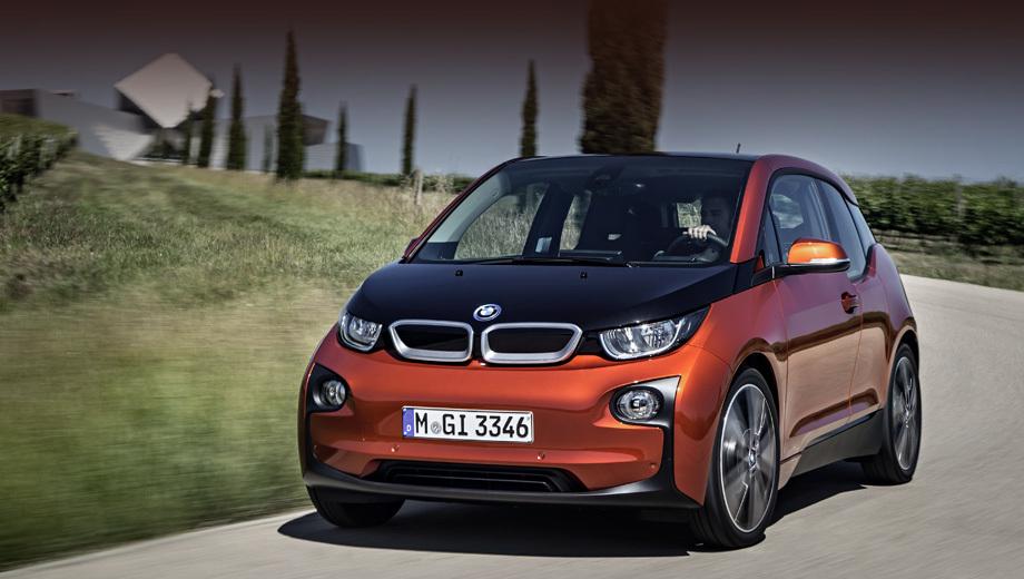 BMW i3 вид спереди
