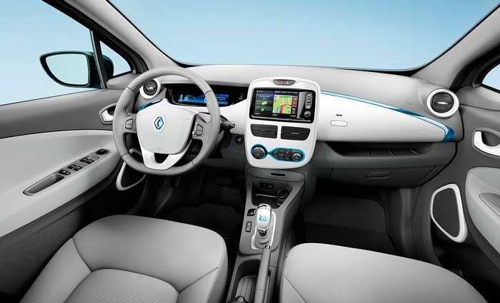 Интерьер Renault ZOE