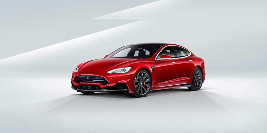 Tesla Model S от Larte Design