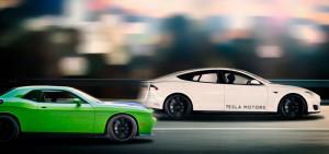 Tesla Model S P85D самый быстрый серийный электромобиль