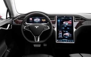 Интернет в Tesla Model S
