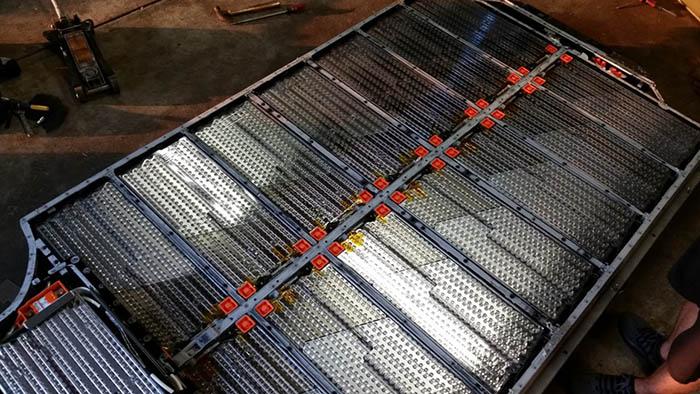 Блоки батареи Tesla