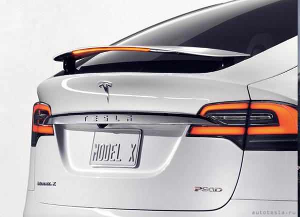 Фото кроссовера Model X