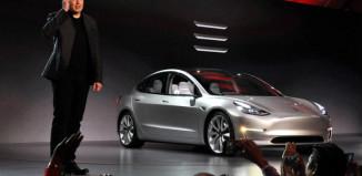 Маск презентует Tesla Model 3