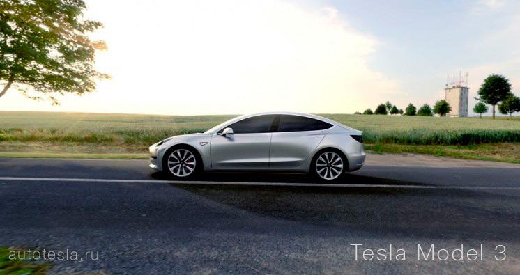 Tesla-Model-3-технические характеристики
