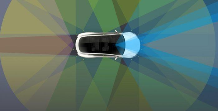 Беспилотный автомобиль Tesla