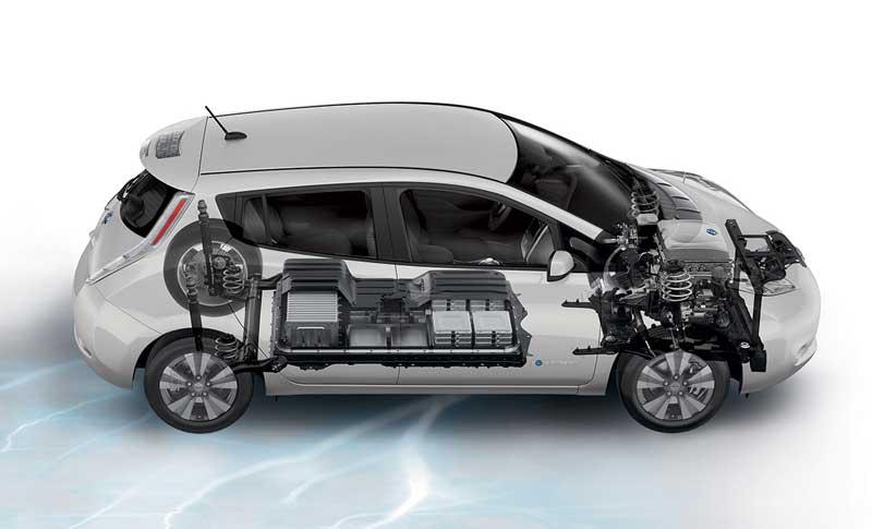 Технические характеристики Nissan LEAF 2016