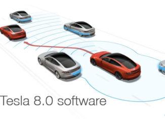 Tesla 8.0 Softwear